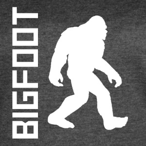 Bigfoot Silhouette - Women's Vintage Sport T-Shirt