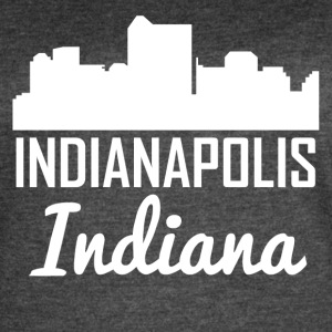 Indianapolis Indiana Skyline - Women's Vintage Sport T-Shirt