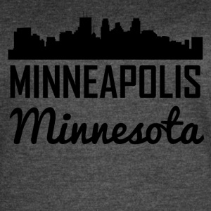 Minneapolis Minnesota Skyline - Women's Vintage Sport T-Shirt