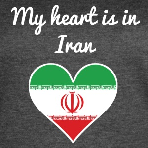 My Heart Is In Iran - Women's Vintage Sport T-Shirt