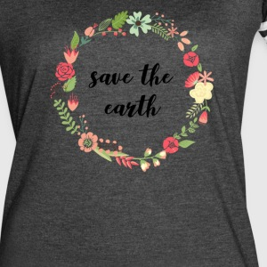 Earth Day T-Shirt - Women's Vintage Sport T-Shirt