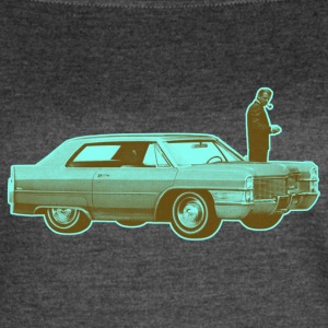 Shorty Cadillac Cyan Brown - Women's Vintage Sport T-Shirt