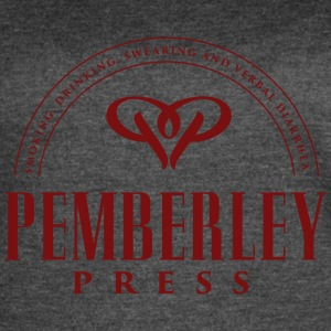 Pemberley Press - Women's Vintage Sport T-Shirt