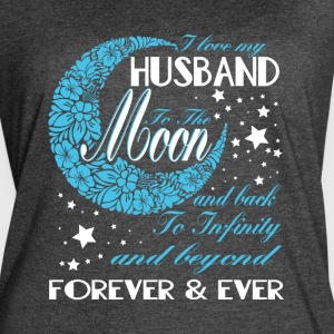 I Love My Husband T Shirt - Women's Vintage Sport T-Shirt
