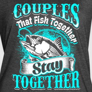 Couples that Fish Together Fishing - Women's Vintage Sport T-Shirt