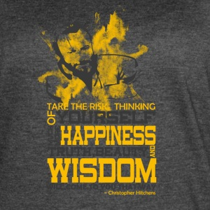 Happiness and Wisdom - Women's Vintage Sport T-Shirt
