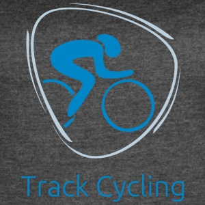 Track_cycling_blue - Women's Vintage Sport T-Shirt