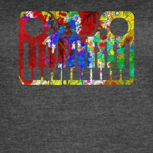 Funny Synthesizer Shirt - Women's Vintage Sport T-Shirt