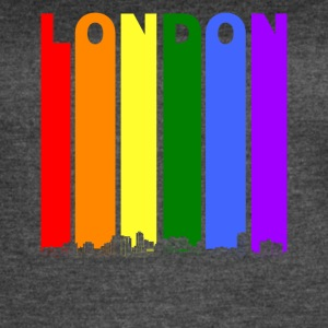 London Ontario Skyline Rainbow LGBT Gay Pride - Women's Vintage Sport T-Shirt