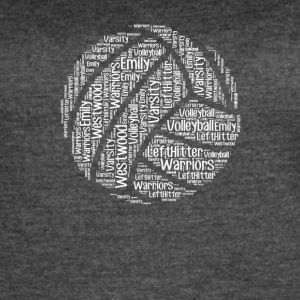 Volleyball words tshirt - Women's Vintage Sport T-Shirt