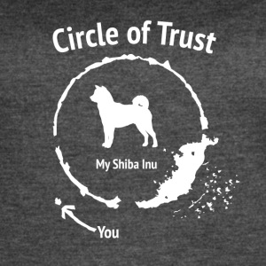 Funny Shiba Inu shirt - Circle of Trust - Women's Vintage Sport T-Shirt