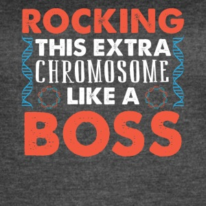 ROCKING THIS EXTRA CHROMOSOME LIKE A BOSS - Women's Vintage Sport T-Shirt