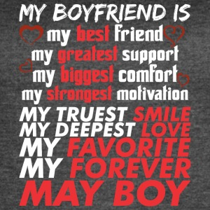 My Boyfriend Is May Boy - Women's Vintage Sport T-Shirt