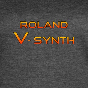 Roland V-Synth Colorful - Women's Vintage Sport T-Shirt