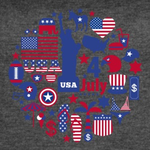 4th of July - Women's Vintage Sport T-Shirt