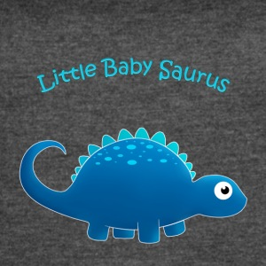 Blue Little Baby Saurus - Women's Vintage Sport T-Shirt