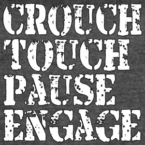 Rugby Crouch Touch - Women's Vintage Sport T-Shirt