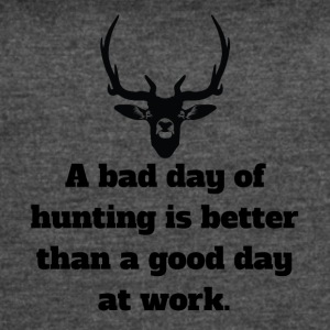 Bad Day Of Hunting - Women's Vintage Sport T-Shirt