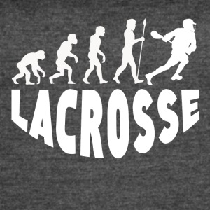 Lacrosse Evolution - Women's Vintage Sport T-Shirt