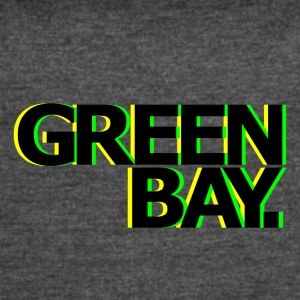 GREEN BAY NEON - Women's Vintage Sport T-Shirt