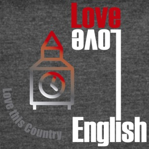 Love English, love England - Women's Vintage Sport T-Shirt