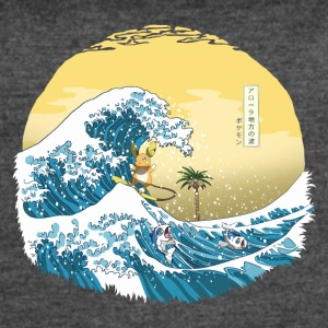 The Great Wave of Alola - Women's Vintage Sport T-Shirt