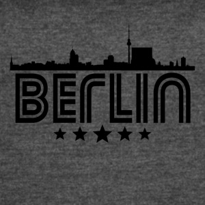 Retro Berlin Skyline - Women's Vintage Sport T-Shirt