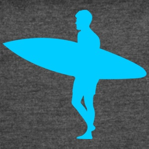 Blue Surfer - Women's Vintage Sport T-Shirt