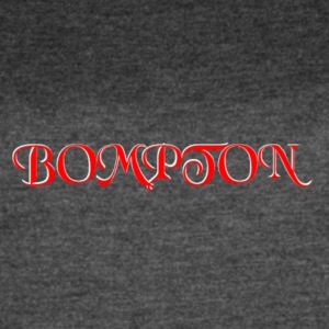 RED AND WHITE BOMPTON CALIFORNIA - Women's Vintage Sport T-Shirt