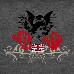 SAVE THE QUEEN - Women's Vintage Sport T-Shirt