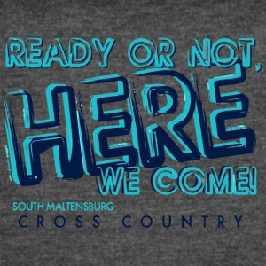 SOUTH MALTENSBURG CROSS COUNTRY - Women's Vintage Sport T-Shirt