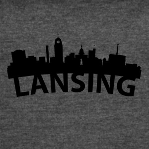 Arc Skyline Of Lansing MI - Women's Vintage Sport T-Shirt