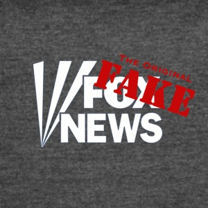 Fox Fake News, the original fake - Women's Vintage Sport T-Shirt