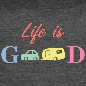 Life Is Good - Women's Vintage Sport T-Shirt