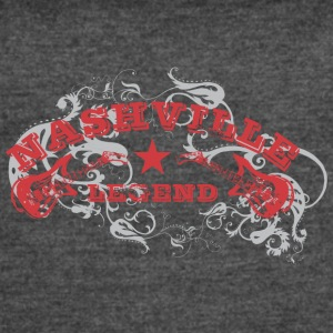 Nashville Rock legend - Women's Vintage Sport T-Shirt