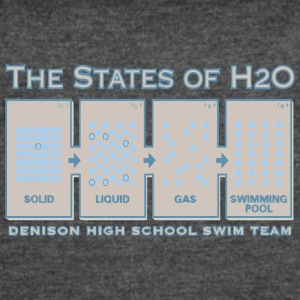 DENISON HIGH SCHOOL SWIM TEAM - Women's Vintage Sport T-Shirt