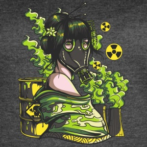 Nuclear Girl With - Women's Vintage Sport T-Shirt