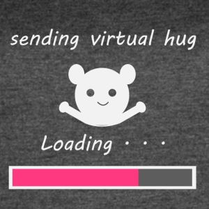 Sending virtual hug Loading... - Women's Vintage Sport T-Shirt