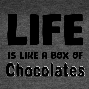 Life is a box of Chocolates - Women's Vintage Sport T-Shirt