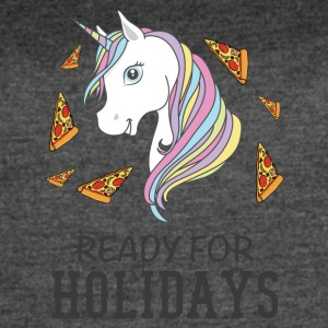 Ready for holidays Unicorn - Women's Vintage Sport T-Shirt