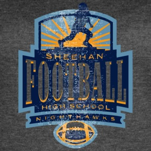 SHEEHAN FOOTBALL HIGH SCHOOL NIGHTHAWKS - Women's Vintage Sport T-Shirt