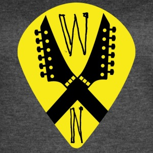 Noise Yellow Pick - Women's Vintage Sport T-Shirt