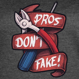Pros Don't Fake - Women's Vintage Sport T-Shirt