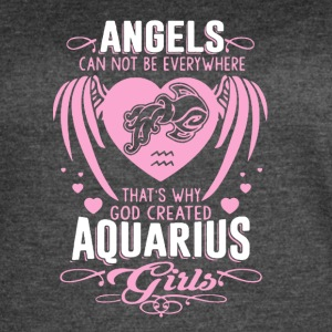 Aquarius Angels Girl Shirt - Women's Vintage Sport T-Shirt