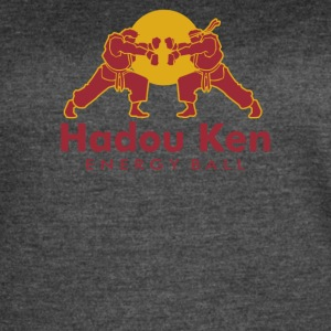 Hadouken Ball Red Energy Drink - Women's Vintage Sport T-Shirt