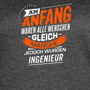 Am Anfang Ingenieur - Women's Vintage Sport T-Shirt