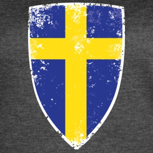 Flag of Sweden - Women's Vintage Sport T-Shirt