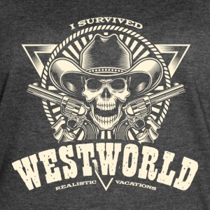 I Survived Westworld - Women's Vintage Sport T-Shirt