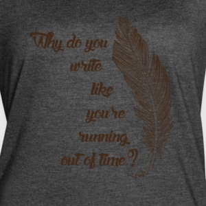Running out of time tshirt - Women's Vintage Sport T-Shirt