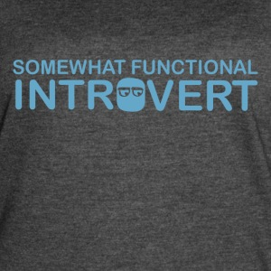 functional introvert - Women's Vintage Sport T-Shirt
